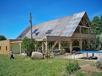 Gite de groupe La ferme à Trémargat