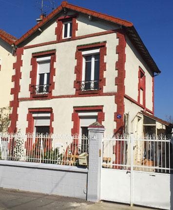 Paris j 39 adore gite de groupe seine saint denis 13 couchages for Chambre 13 bobigny