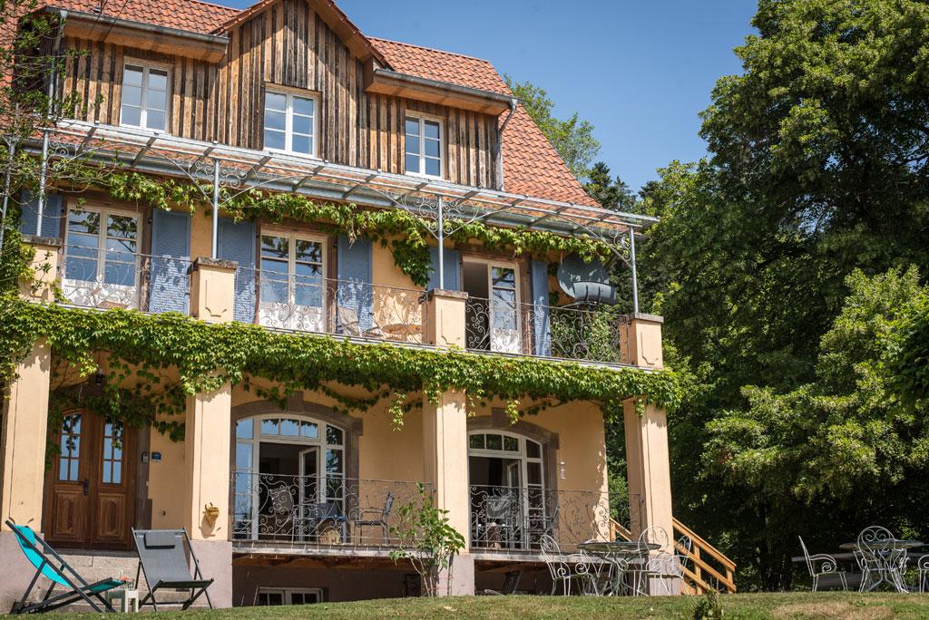 Villa Louisental - Gite de groupe Bas-Rhin 15 couchages