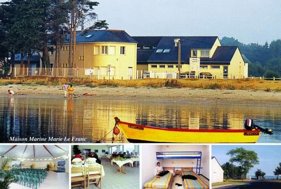maison marine marie le franc gite de groupe morbihan 117 couchages. Black Bedroom Furniture Sets. Home Design Ideas