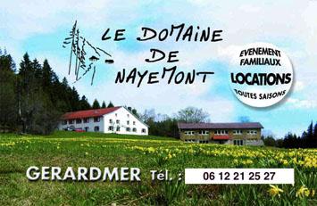 Gite de groupe Domaine de Nayemont
