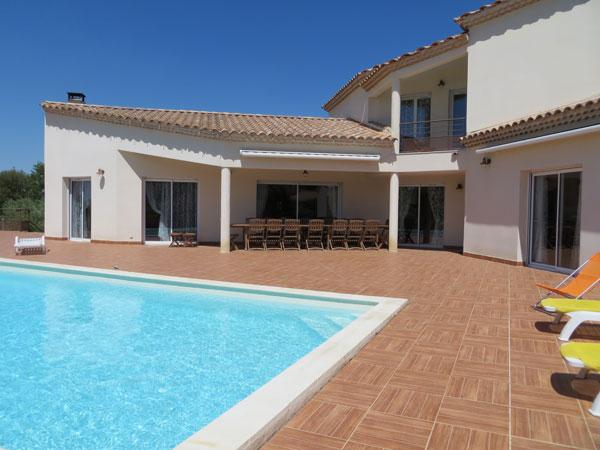 Location Villa Souvignargues