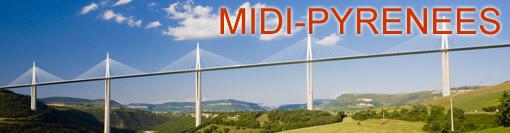 Gites de groupe Midi-Pyrénées